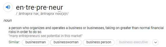 entrepreneur definition
